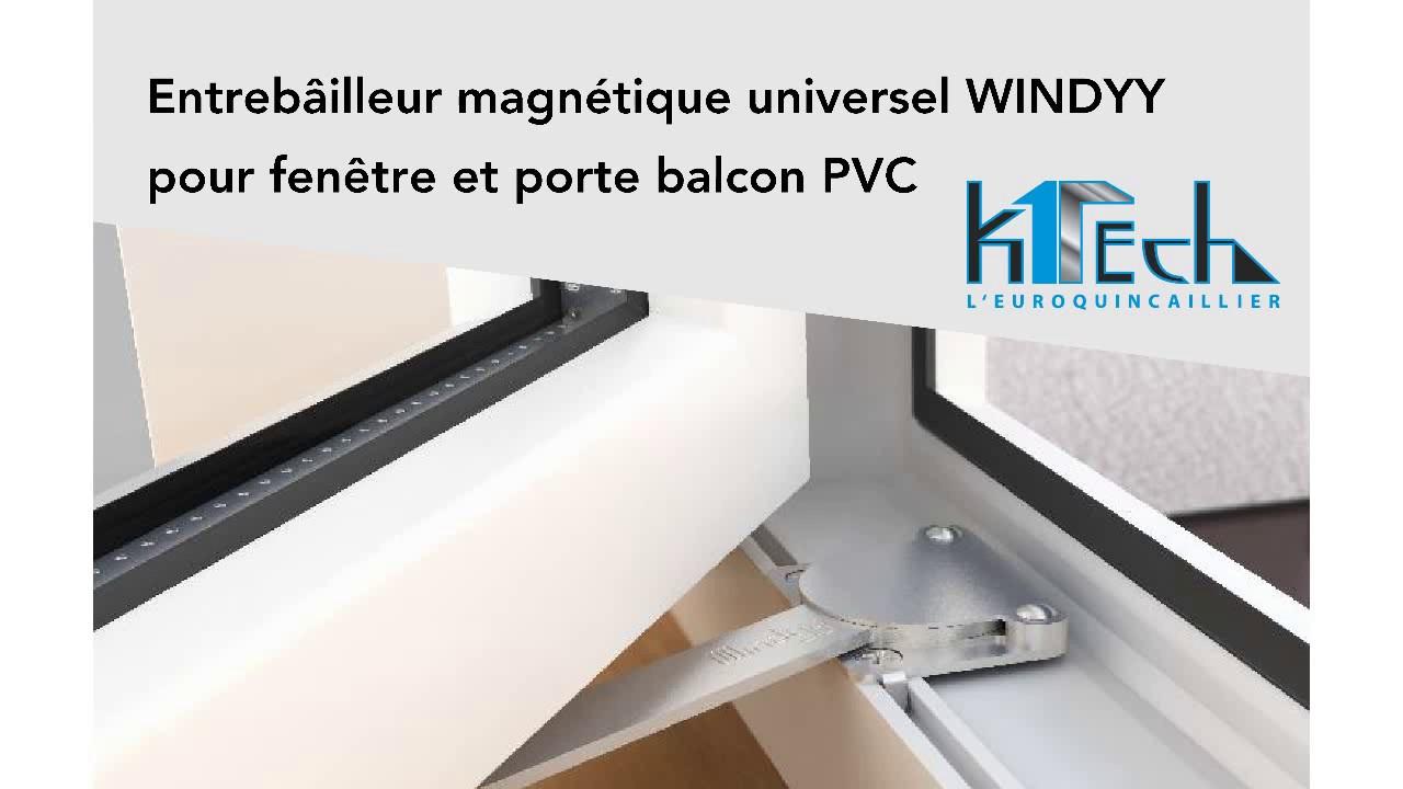 Entrebâilleur Universel Pour Fenêtres Et Porte Fenêtres Windyy