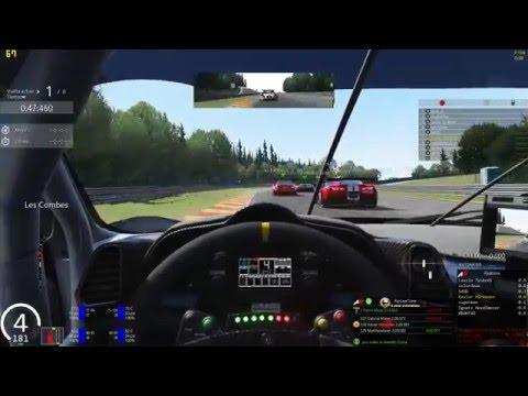 Assetto Corsa Onboard Carrera online con admin Spa Ferrari 458GT2