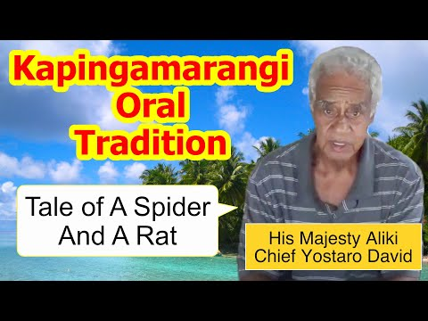 Tale of a Spider and a Rat, Kapingamarangi