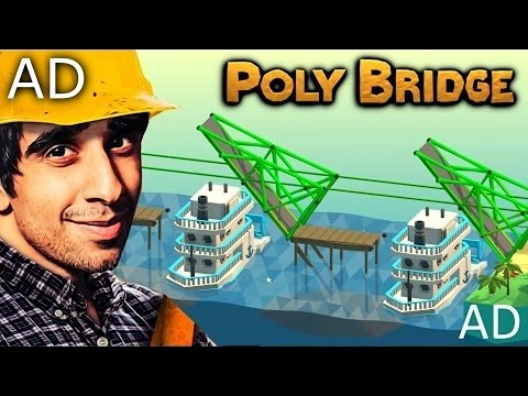 TRIPLE DRAWBRIDGE?! - POLY BRIDGE