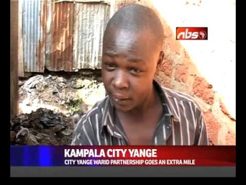 Kampala City Yange unearthed dirtiest road in the city