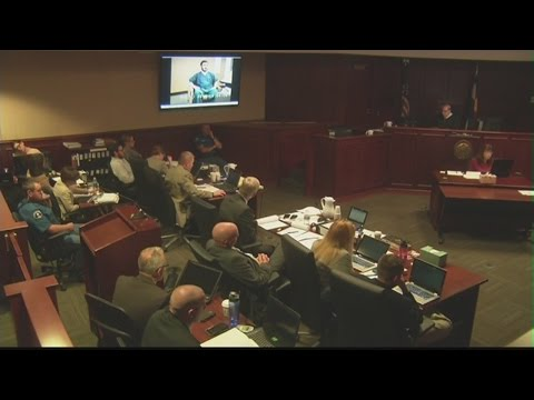 James Holmes describes what he saw and felt and he entered the Aurora theater, began firing