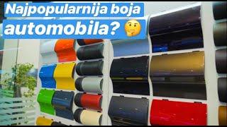Koja je najpopularnija boja automobila?