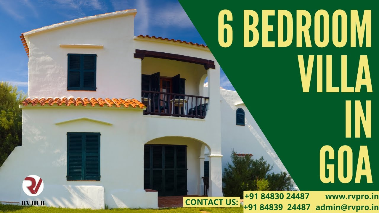 6 Bedroom Villa In Goa Youtube