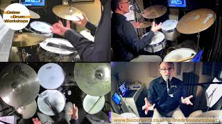 New Orleans Second Line Drumming: Excerpt from Online Drum Workshop #06 (full 1hr session available)