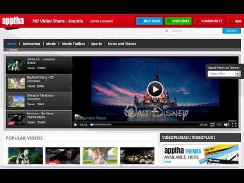 Joomla HD Video Sharing Software Review