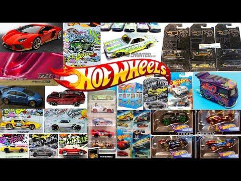 New Hot Wheels Lamborghini Super T-Hunt, Walmart Series, 5-Car Packs And More!