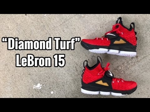 "529dbcbd62e232 Nike LeBron 15 ""Diamond Turf"" review"