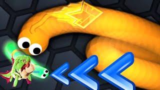 Slither.io - Hungry Shark World Custom BIG MOMMA DUNKLEOSTEUS Snake  | Slitherio Epic Skin