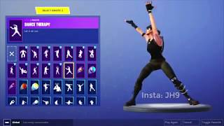 Fortnite New Leaked Emotes! ( PRAISE THE TOMATO, FANCY FEET, DANCE THERAPY, SHAKE IT UP)