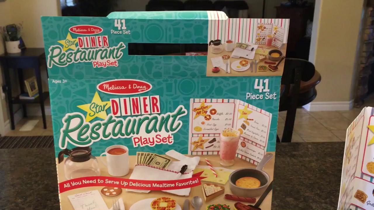 Melissa Doug Diner Restaurant Playset Review