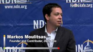 Daily Kos Founder Markos Moulitsas on the New Media