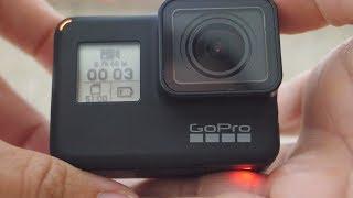 Reanimacja zalanej kamery GO PRO 7! Przybory szkolne i długie trasy
