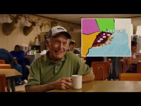 Bernie Movie - Map of Texas