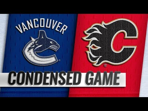 Vancouver Canucks vs Calgary Flames – Oct.06, 2018 | Game Highlights | NHL 18/19 | Обзор матча