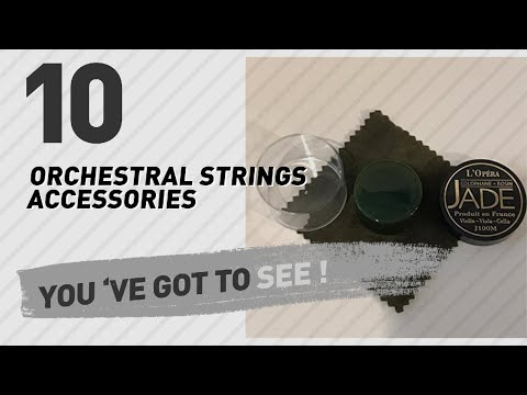 Orchestral Strings Accessories, Top 10 Collection // New & Popular 2017