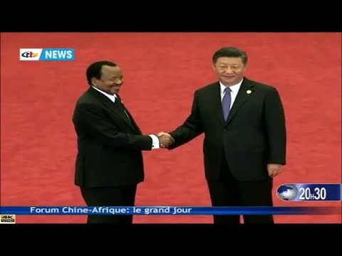CRTV - JOURNAL 20H30 (FORUM CHINE - AFRIQUE: Le grand jour) - Lundi 03 Septembre 2018