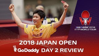 2018 Japan Open I Day 2 Review presented by GoDaddy