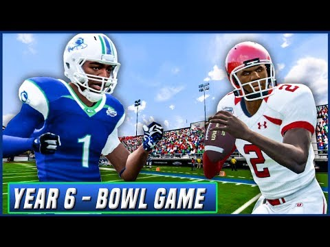 NCAA Football 14 Dynasty Year 6 - Las Vegas Bowl vs Utah | Ep.105