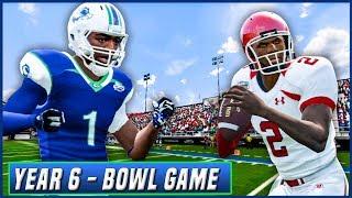 NCAA Football 14 Dynasty Year 6 - Las Vegas Bowl vs Utah | Ep.105