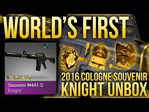WORLD'S FIRST 2016 COLOGNE SOUVENIR KNIGHT UNBOX