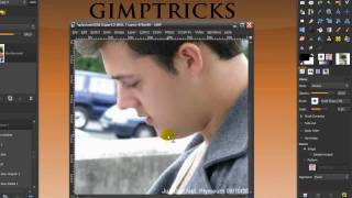 Shave someone in GIMP- Clone & Healing tool (+spot removal) GIMP tutorial