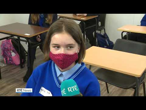 Secondary school students return six months after Covid-19 closures