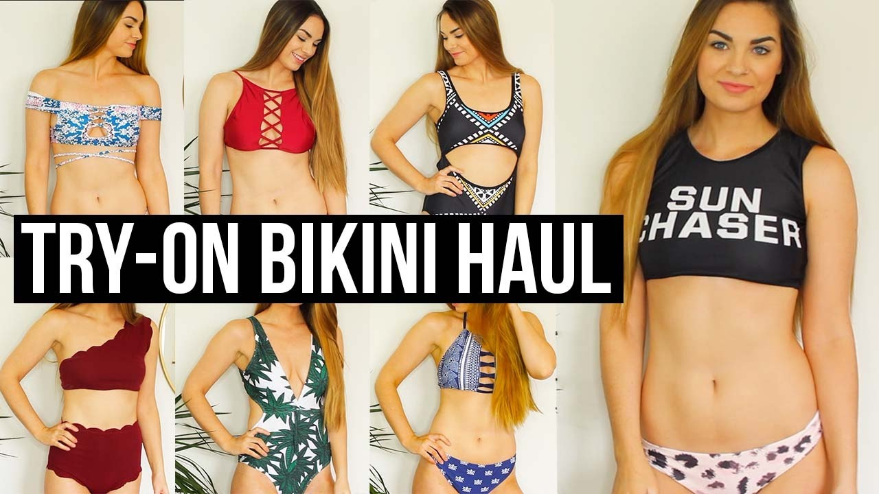 58ff537c18 CHEAP BIKINI TRY ON HAUL: Trying on bathing suits under $20 - YouTube