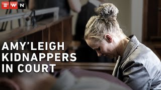 Tharina Human, Pieter Van Zyl and Laetitia Nel appeared at the Vanderbijlpark magistrates court on 20 September 2019. The trio allegedly kidnapped Amy'Leigh De Jager in front of her school earlier this month.