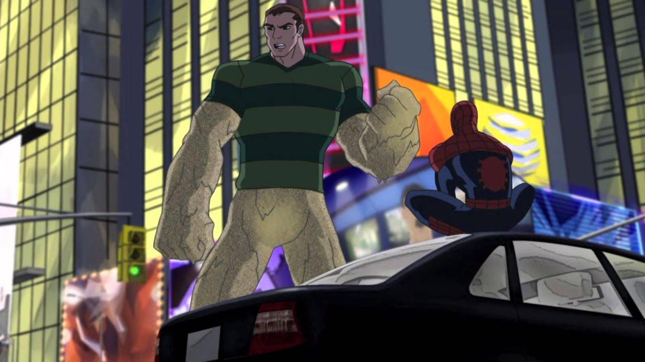 Ultimate Spider-Man Clip: Sandman Returns - YouTube
