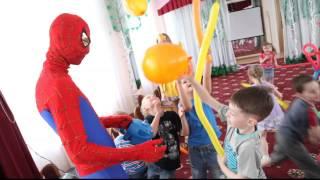 Человек паук на детский праздник в садике