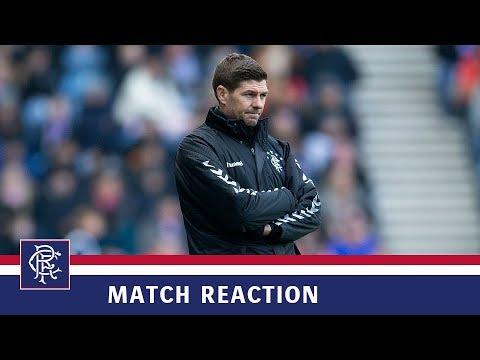 REACTION | Steven Gerrard | Rangers 3-2 HJK Helsinki