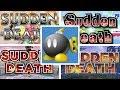 Evolution of SUDDEN DEATH in Super Smash Bros