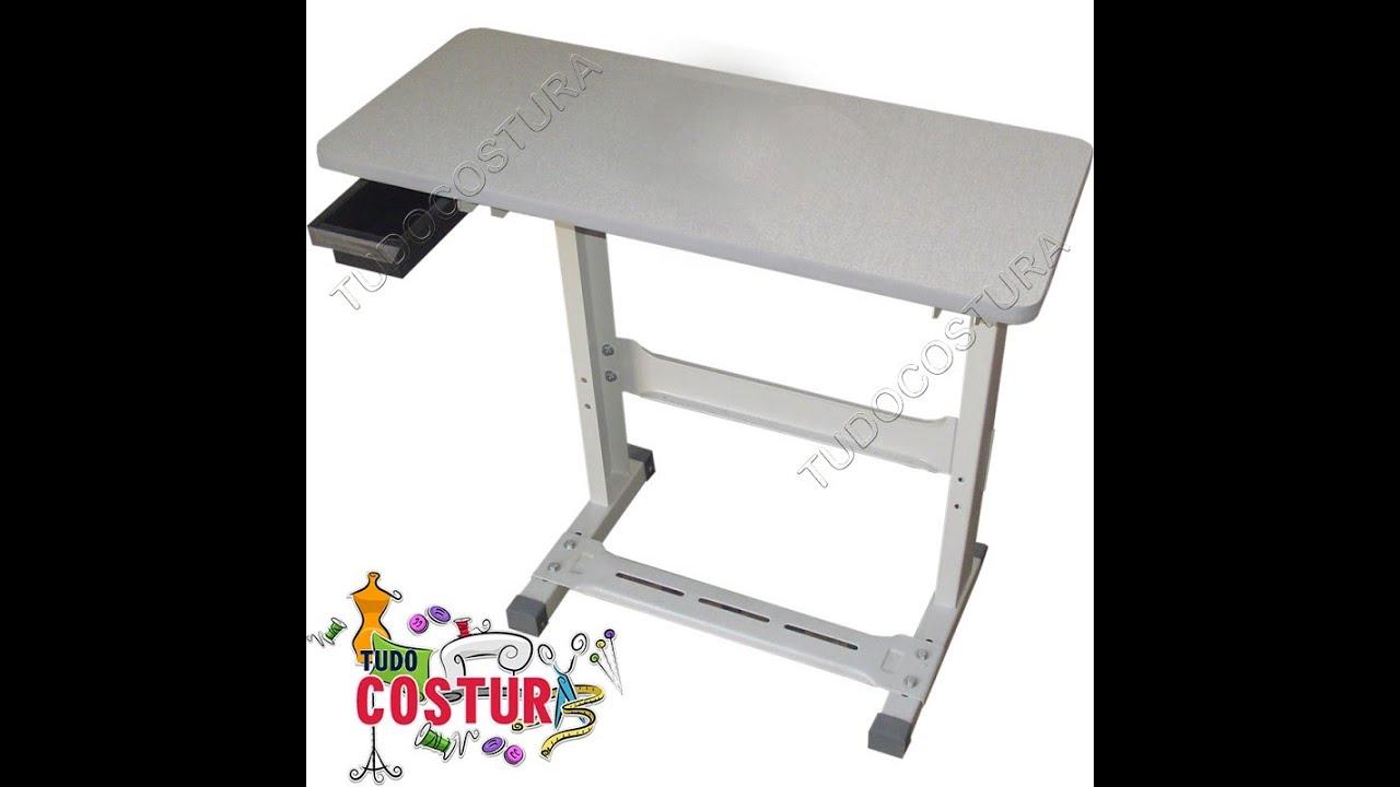 Como montar o tampo mesa para m quina de costura youtube - Mesas para costura ...