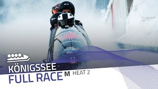 KÖnigssee | BMW IBSF World Cup 2019/2020 - 4-Man Bobsleigh Heat 2 | IBSF Official