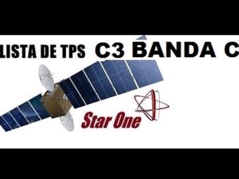 Tps Atualizadas C3 Banda C (Canais Abertos) 2019