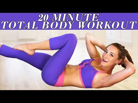 Easy Beginners Workout for Women – At Home Full Body 20 Minute Floor Exercises