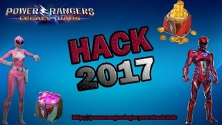 Power Rangers Legacy Wars Hack 2017 - Free Coins and Crystals