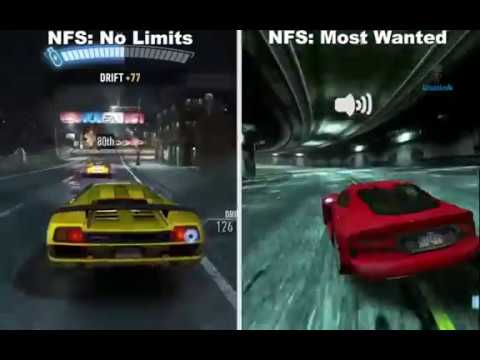 Need For Speed No Limits Vs Need For Speed Most Wanted Android GamePlay HD