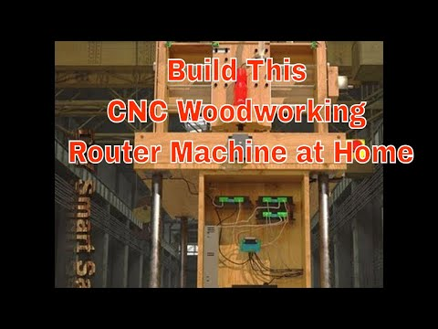 DIY CNC ROUTER machine at home