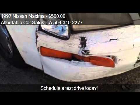 1997 Nissan Maxima for sale in Marrero, LA 70072 at the Affo