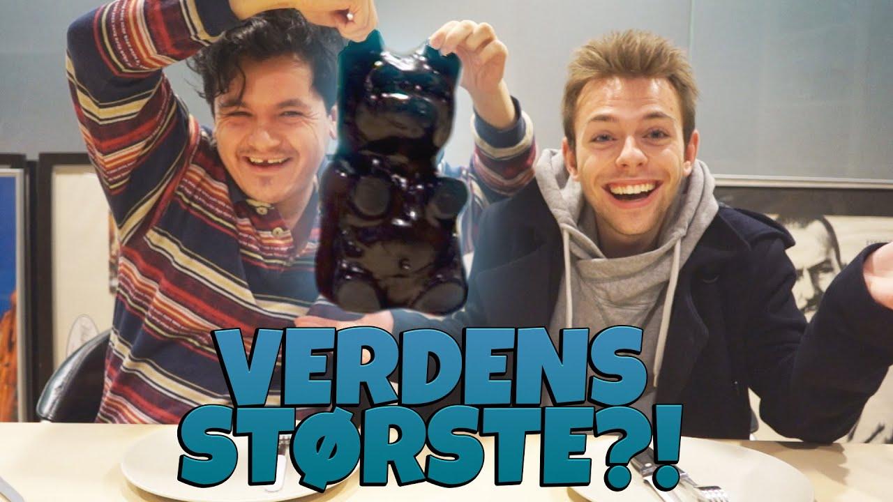 VERDENS STØRSTE VINGUMMI! | MED MORTEN MÜNSTER