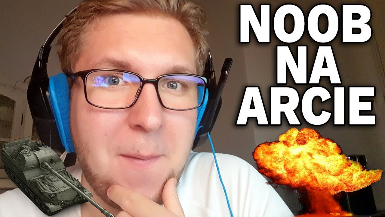 NOOB NA ARCIE :) – Polska vs Niemcy – World of Tanks