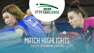Мария Тайлакова vs Maki Shiomi | U21 Spanish Open 2020 (1/2)