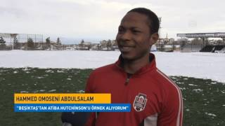 Nijerya'dan Futbol Oynamak İçin Türkiye'ye Geldi