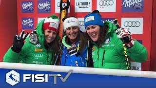 Highlights | Nadia Fanchini trionfa a La Thuile. Merighetti terza | FISI Official