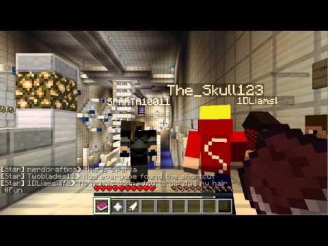 Minecraft: Parkour on MinecraftUniverse's Server Part 1
