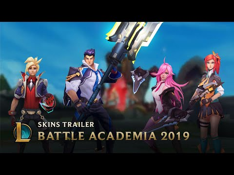 Battle Academia 2019  Skins Trailer - League of Legends