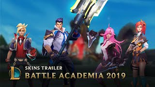 Battle Academia 2019 | Skins Trailer - League of Legends