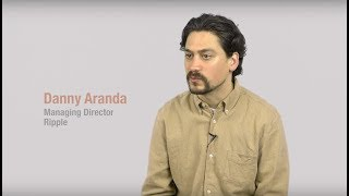 Danny Aranda from Ripple Talks about Raisedby.Us